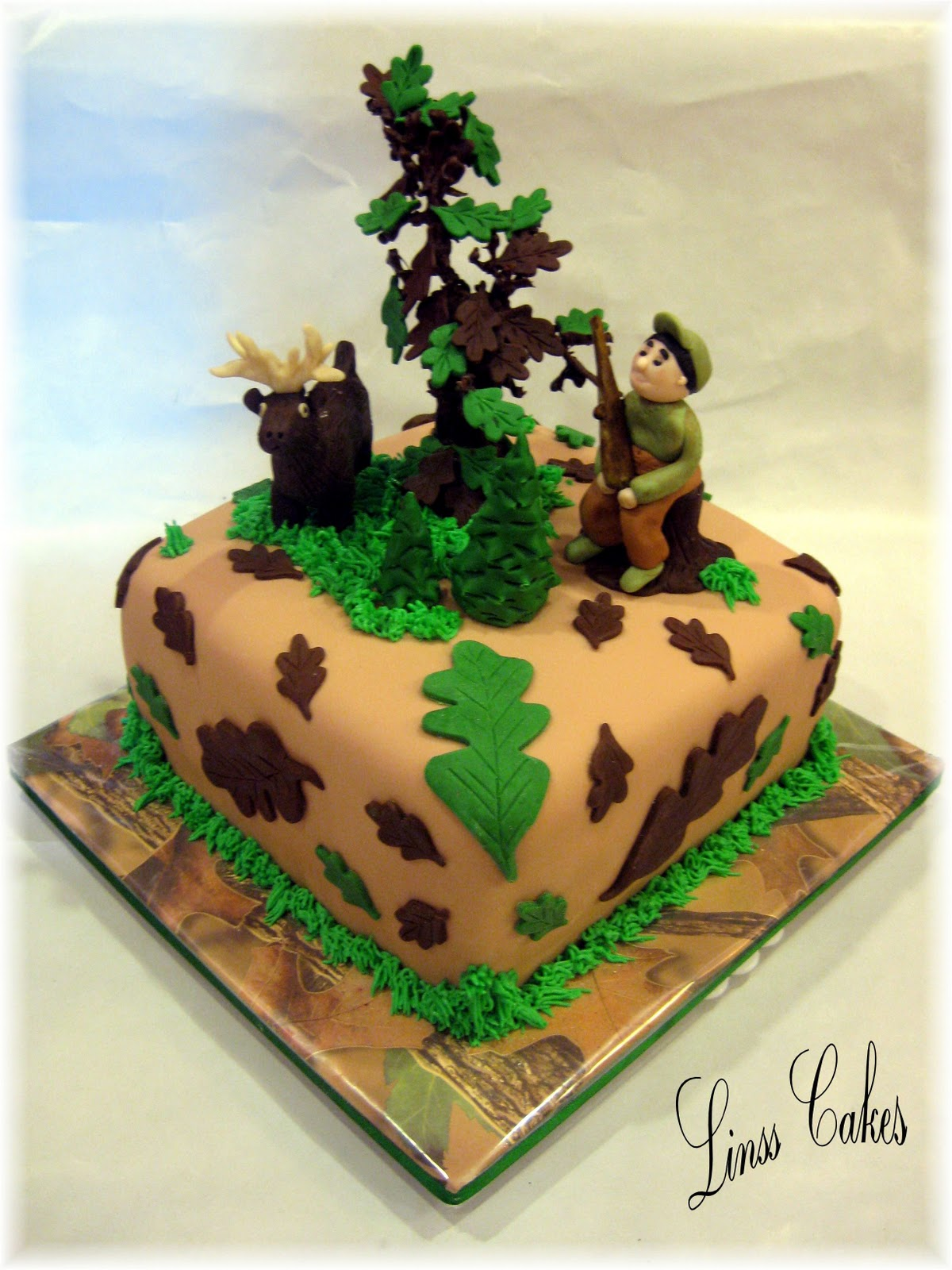 Girls Hunting Cake Ideas 51249 Hunting Camo Birthday Cake