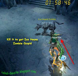 Ice Hound Zombie