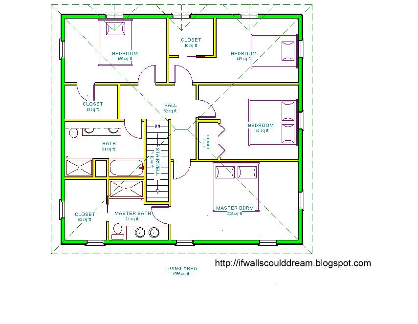 Small bathroom floor plan