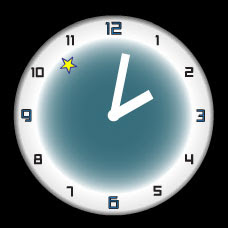 free flash clock Portal