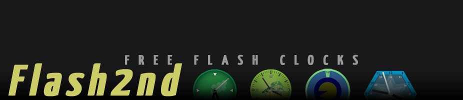 Flash2nd - Free Flash Clocks