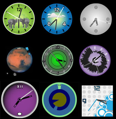 free flash clocks