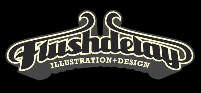 FLUSHDELAY :: illustration+design