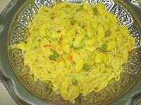 South indian noodles, macaroni