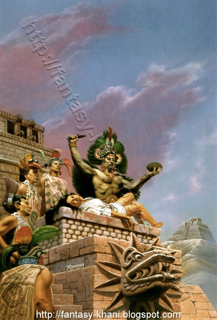 aztecs sacrifices Discover the basic beliefs of the ancient aztec religion, and how the mexica people might have thought about the world and the gods.
