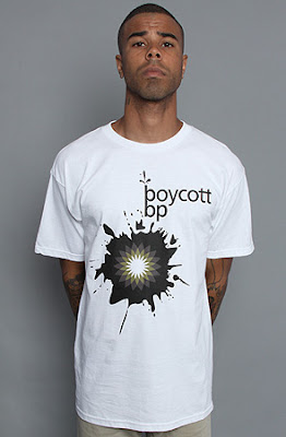 Karmaloop Coupon Codes and PLNDR Coupon Codes: Boycott BP Tee by KLP at Karmaloop :  karmaloop code karmaloop rep code tshirt streetwear