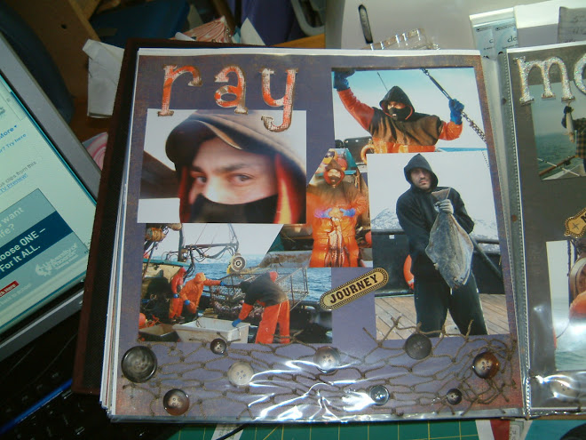 Son, Ray's fishing scrapbook pics