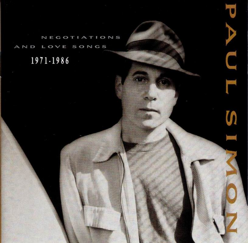 PAUL SIMON ''NEGOTIATIONS AND LOVE SONGS'' (1971-1986) (USA,1988) @