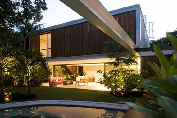 Gr house natural concept house design by bernardes jacobsen architecture minimalist home dezine Dezine house