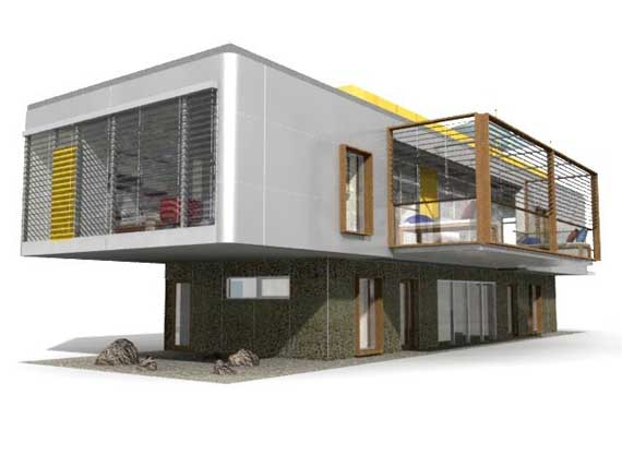 Modular contemporary sustainable house design by dna Contemporary modular home designs