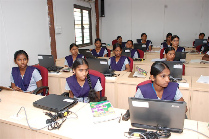 students in the class room