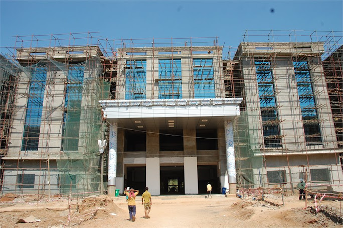 Academic block at RK valley
