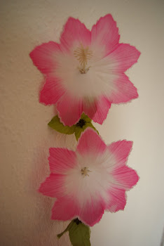 Älskade rosa blommor