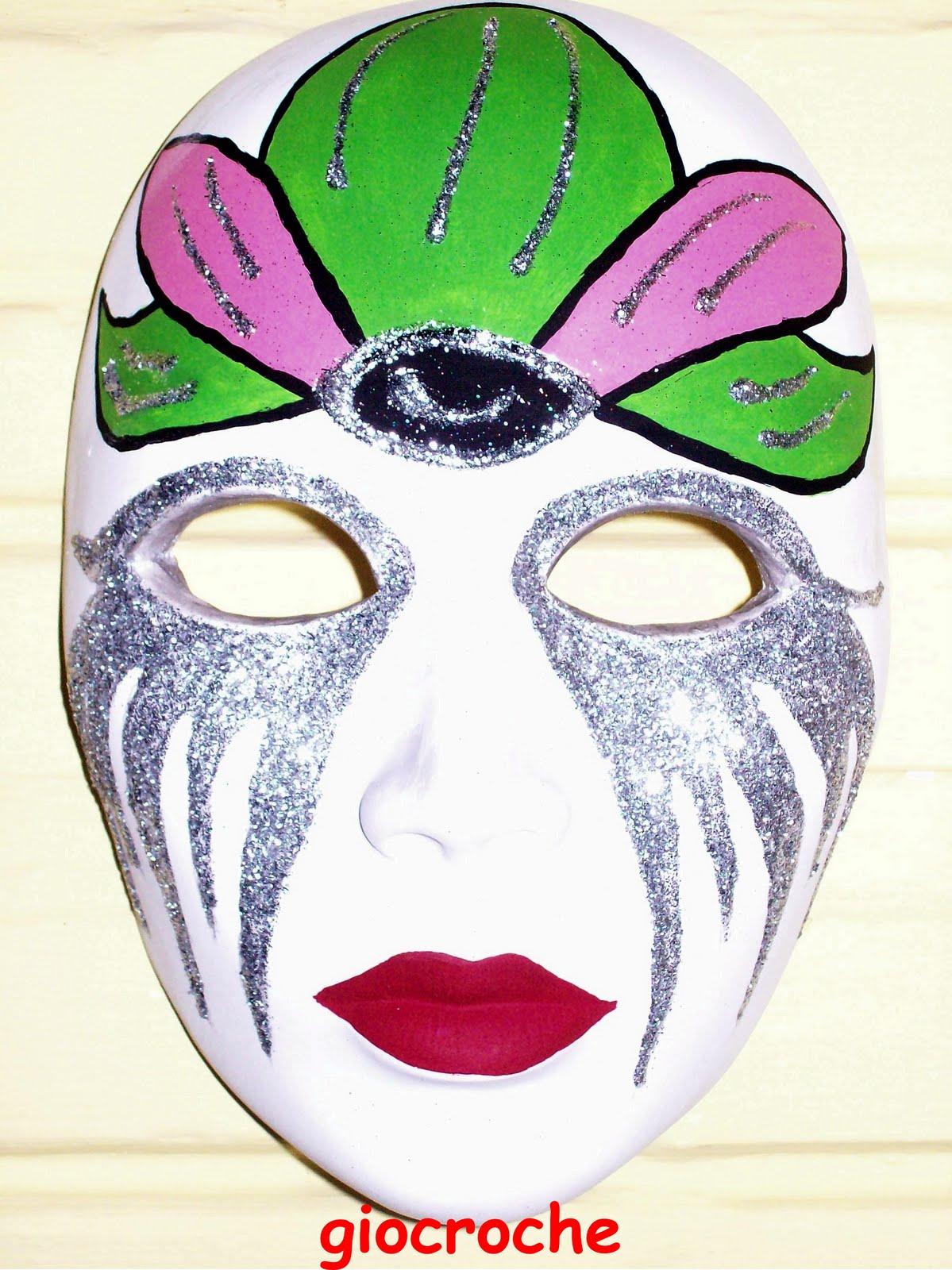 Gio croche mascaras venecianas - Mascaras venecianas decoracion ...
