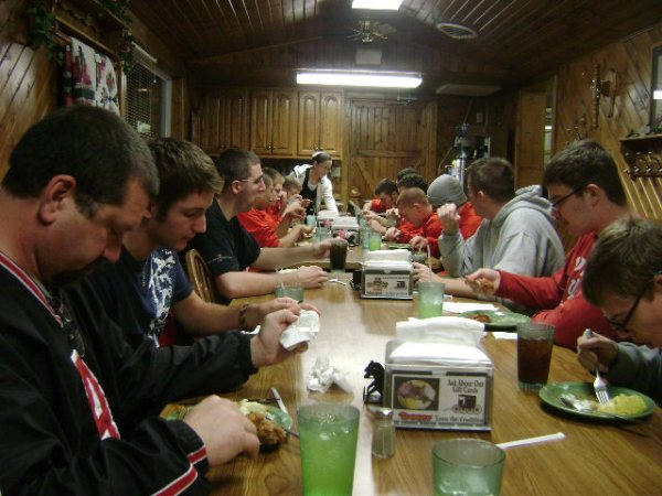 Team Dinner at the Black Buggy 2009