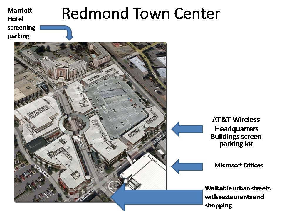 Microsoft Redmond Town Center B6 Address