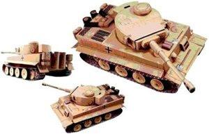 Бумажный танк Тигр
