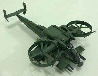 Аватар. Бумажная модель Скорпион