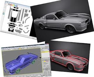 Проектирование бумажных моделей в 3D MAX