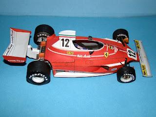 Бумажная модель Ferrari 312 Formula One