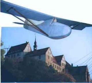 Бумажная модель планера Colditz Cock