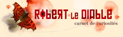 Bandeau du blog Robert Le Diable par Diane Morel