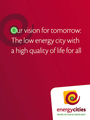Affiche de communication pour Energcities