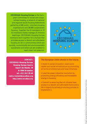 Rapport d'activités 2009 CECODHAS Housing Europe