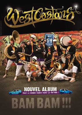 Affiche de concert des West Costars