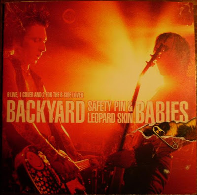 Backyard Babies - Safety Pins & Leopard Skin