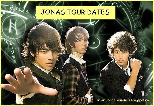 jonas brothers on tour