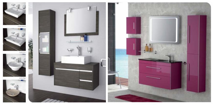 Muebles De Baño Estilo Minimalista:elenco2: Muebles de baño