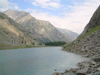 A view of Swat valley in Pakistan