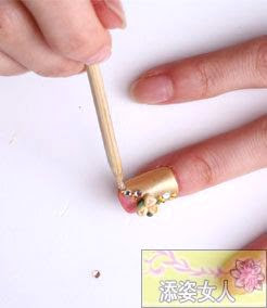 Nail Art Tutorial: Yellow Pink Gel Flowers