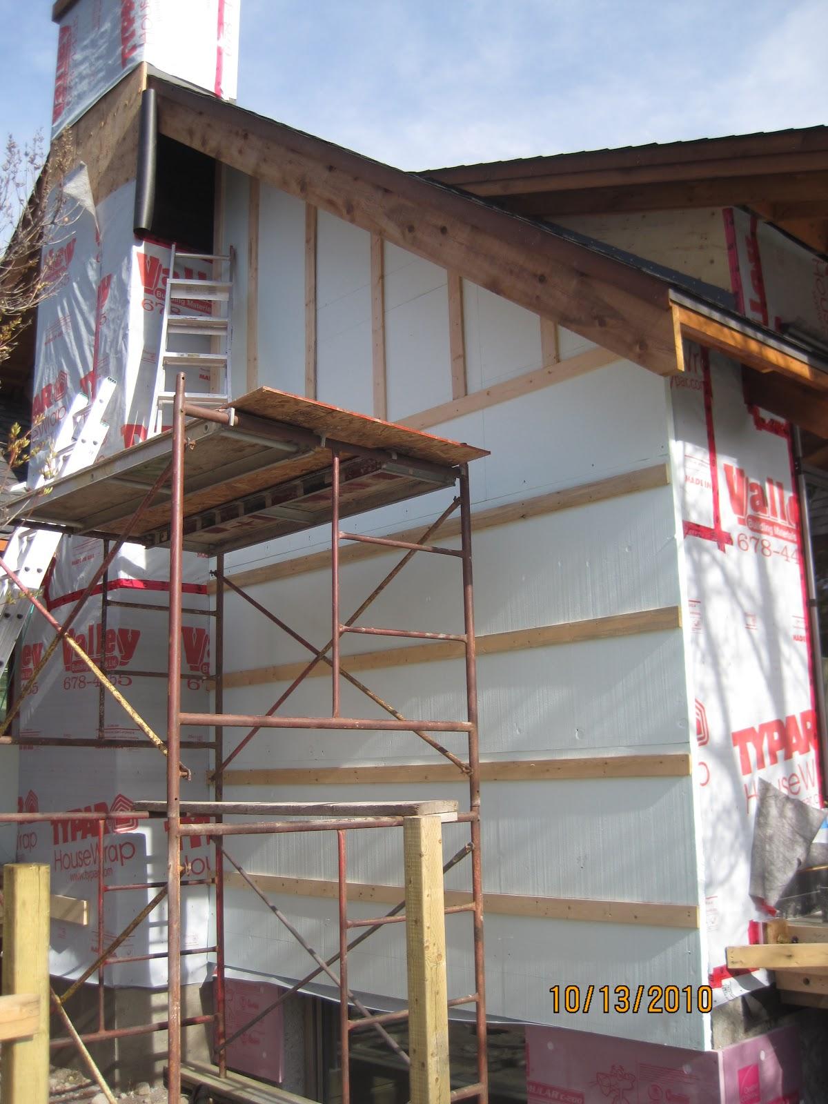Fairholme design for Exterior insulation