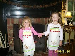 little thank-filled girls