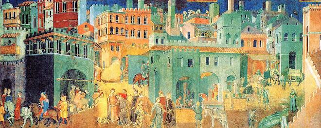 Les effets du bon et du mauvais gouvernement d'Ambrogio Lorenzetti