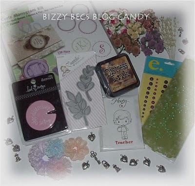 Bizzy Becs Blog Candy - Até 27/01
