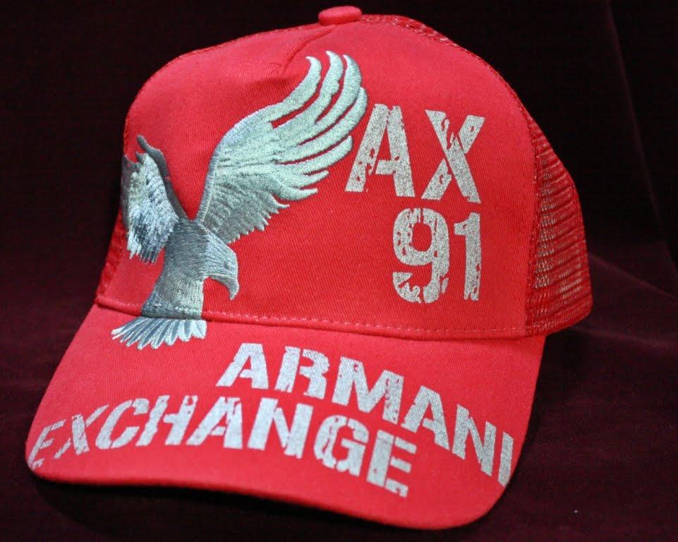 Gorras Armani Exchange 2013--100% Originales ..fashions-moda   850.0 ... c38973ca43e