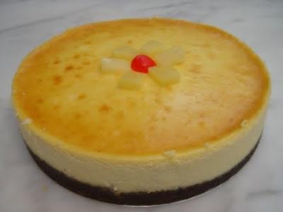 Pineapple+cream+cheese+cake