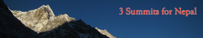 3 Summits For Nepal