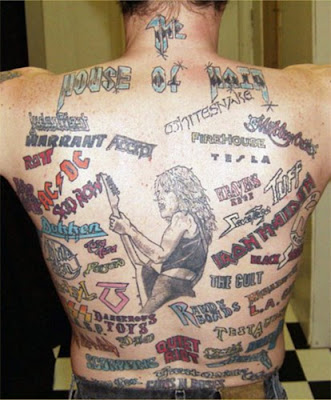 List: 7 cool musical tattoos