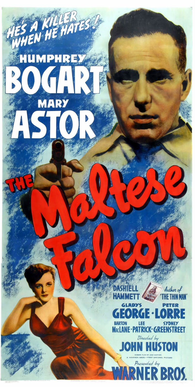 maltese falcon book vs movie essay It seems silly to summarize a film so well known that hundreds of people can  recite its sound track from memory, but it does get a bit complicated and maybe  you.