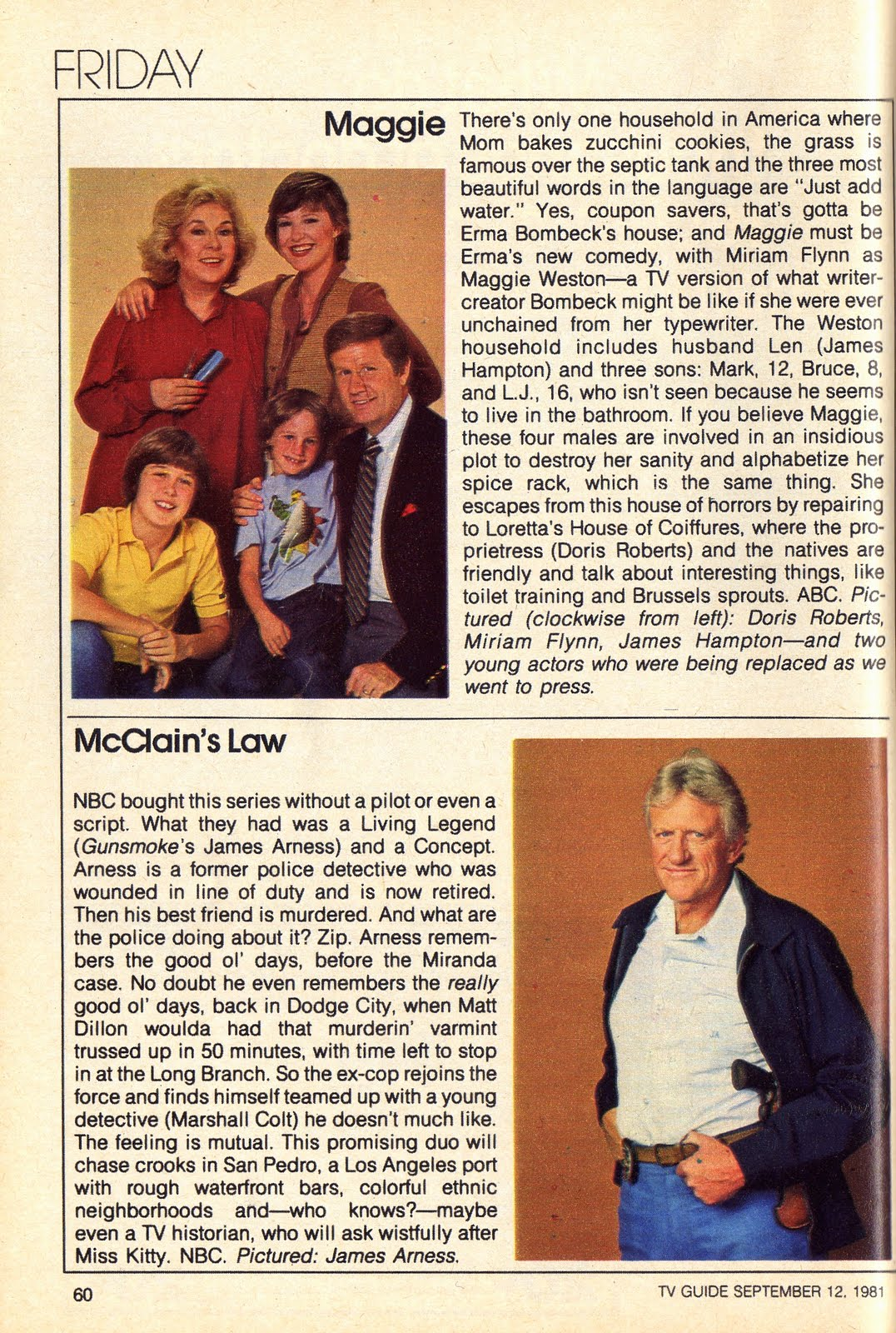 "The Rap Sheet: Killed in the Ratings: ""McClain\'s Law"""