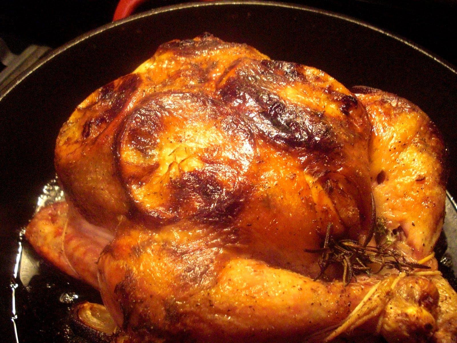 In Fine Fettle: Roasted Lemon & Herb Chicken