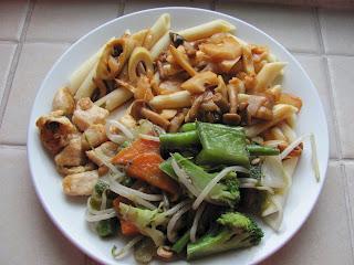 Receita de Penne, prato da cozinha chinesa
