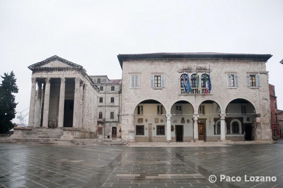 Pula, en Istria