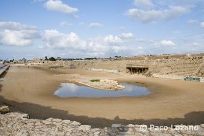 Roman hippodrome in Caesarea Maritima