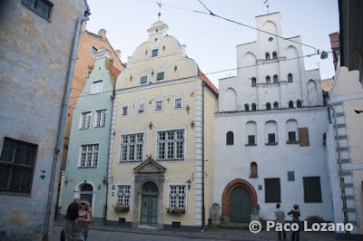 The Three Brothers, Riga