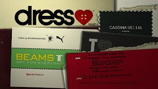 PS3向けオンライン配信専用コンテンツ「dress(ドレス)」